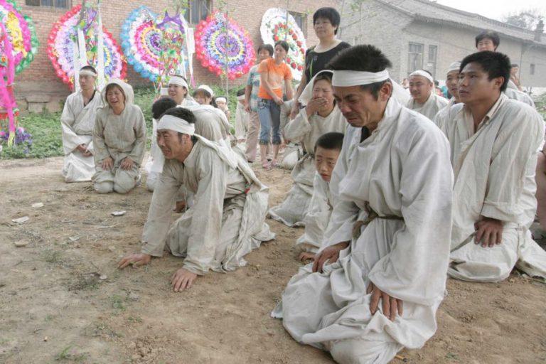 مراسم تشییع جنازه در فرهنگ چینی